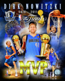 Dirk Nowitzki 2011 NBA Finals MVP Portrait Plus Photo