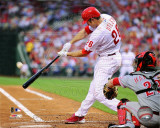 Chase Utley 2011 Action Foto
