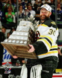 Tim Thomas with the Conn Smythe Trophy Game 7 of the 2011 NHL Stanley Cup Finals(44) Photo