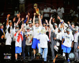 The Dallas Mavericks Celebrate Winning the Game 6 of the 2011 NBA Finals Photo