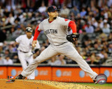 Josh Beckett 2011 Action Photo