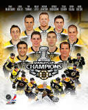 Boston Bruins 2011 NHL Stanley Cup Championship Composite Photographie