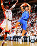 NBA Dirk Nowitzki Game 6 of the 2011 NBA Finals Action Photo