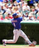 Elvis Andrus 2011 Action Photo