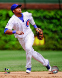 Starlin Castro 2011 Action Photo