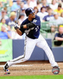 Carlos Gomez 2011 Action Photo