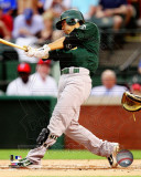Kurt Suzuki 2011 Action Photo