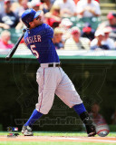 Ian Kinsler 2011 Action Photographie