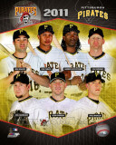 2011 Pittsburgh Pirates Team Composite Photo