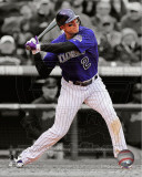 Troy Tulowitzki 2011 Spotlight Action Photo