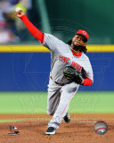 Johnny Cueto 2011 Action Photo