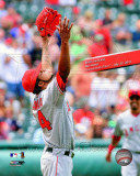 Ervin Santana No-Hitter with Overlay, July 27, 2011 Photo
