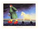 Walking the Horse Samlertryk af Mackenzie Thorpe