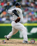 CC Sabathia 2011 Action Photo