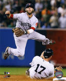 MLB Dustin Pedroia 2011 Action Photo