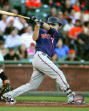 Joe Mauer 2011 Action Photo
