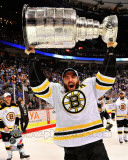 Patrice Bergeron with the Stanley Cup Game 7 of the 2011 NHL Stanley Cup Finals(45) Photo