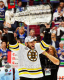 Milan Lucic with the Stanley Cup Game 7 of the 2011 NHL Stanley Cup Finals(346) Photo