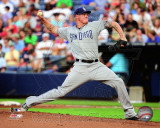 Mat Latos 2011 Action Photo