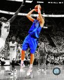Dirk Nowitzki Game 1 of the 2011 NBA Finals Spotlight Action Fotografía