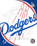 2011 Los Angeles Dodgers Team Logo Photo