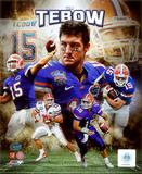 NCAA Tim Tebow University of Florida Gators Portrait Plus Photo