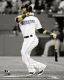 Jose Bautista 2011 Spotlight Action Photo