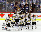 The Boston Bruins Celebrate Winning Game 7 of the 2011 NHL Stanley Cup Finals(56) Photo