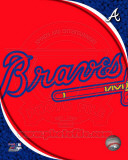 2011 Atlanta Braves Team Logo Photographie
