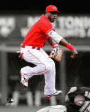 Brandon Phillips 2011 Spotlight Action Photo