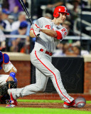 Chase Utley 2011 Action Photo