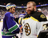 Tim Thomas & Roberto Luongo Game 7 of the 2011 NHL Stanley Cup Finals(59) Photo