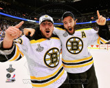 NHL Brad Marchand & Patrice Bergeron Game 7 of the 2011 NHL Stanley Cup Finals(57) Photo