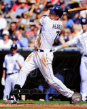 Chase Headley 2011 Action Photographie