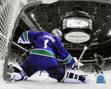 Roberto Luongo Game 2 of the 2011 NHL Stanley Cup Finals Spotlight Action Photographie