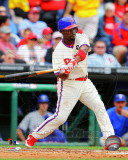 Jimmy Rollins 2011 Action Photo