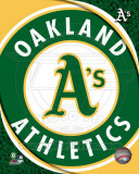 2011 Oakland A's Team Logo Photo