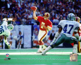 Joe Theismann 1983 Action Fotografa