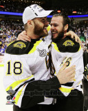 David Krejci & Nathan Horton Game 7 of the 2011 NHL Stanley Cup Finals(58) Photo