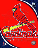 2011 St. Louis Cardinals Team Logo Photographie