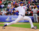 Matt Garza 2011 Action Photo