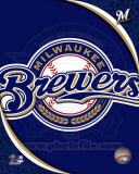 2011 Milwaukee Brewers Team Logo Photo