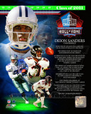 Deion Sanders 2011 Hall of Fame Composite Photographie