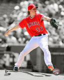 Jered Weaver 2011 Spotlight Action Photographie
