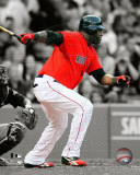 David Ortiz 2011 Spotlight Action Photo