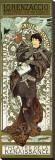 Lorenzaccio Stretched Canvas Print by Alphonse Mucha