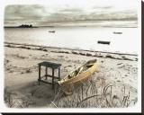 浜辺のボート キャンバスプリント : ジーン・オネスティ