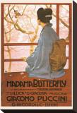 Puccini– Madame Butterfly Leinwand von Leopoldo Metlicovitz