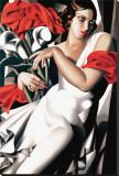 Porträt von Ira Leinwand von Tamara de Lempicka