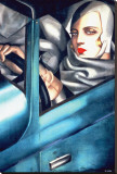 Tamara de Lempicka - Autoportrait - Şasili Gerilmiş Tuvale Reprodüksiyon